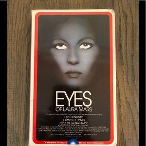 Eyes of Laura Mars VHS